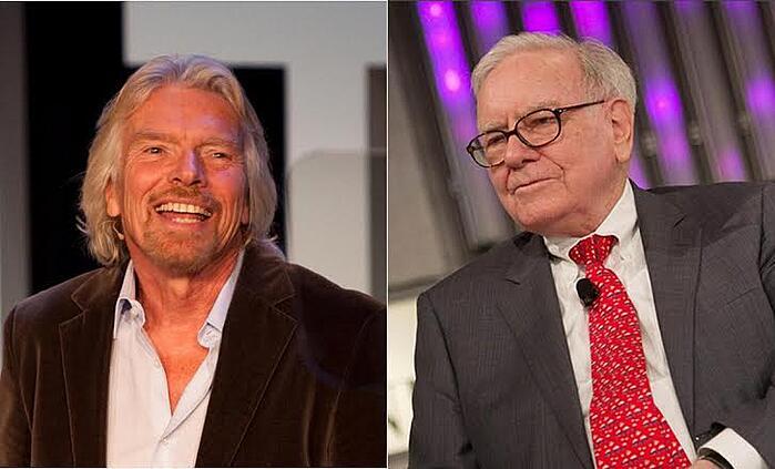Richard-Branson-Warren-Buffett