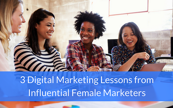 female marketers digital marketing lessons